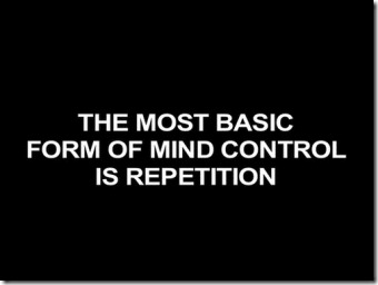 Image result for repetition mind control