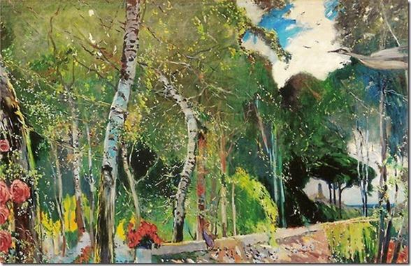 Paisatge - Joaquim Mir (Barcelona 1873-1940)