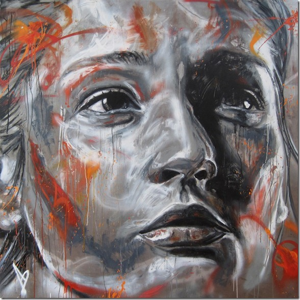 spray paint pictures david walker