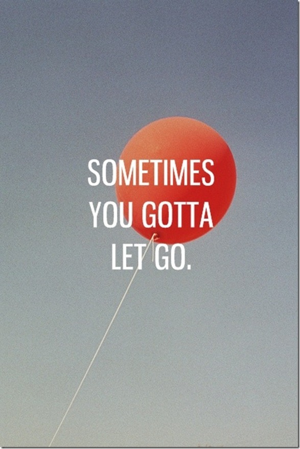 balloon and let go