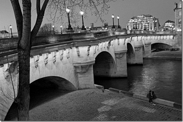 Pont Neuf, River Seine, Paris, France