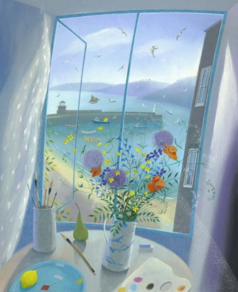 Still life by Nicholas Hely-Hutchinson (1950)