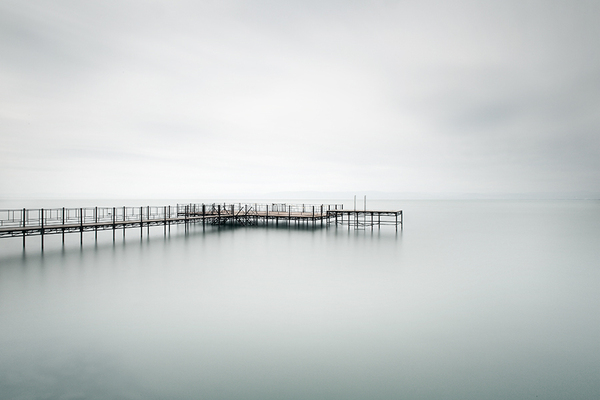 calm, serene, ocean, dock, zen, peace, quiet mind