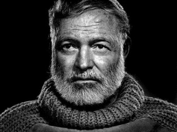 karsh-photo-yousuf.n - ernest hemingway