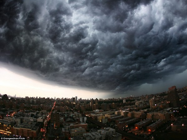 clouds over new york - photo #30