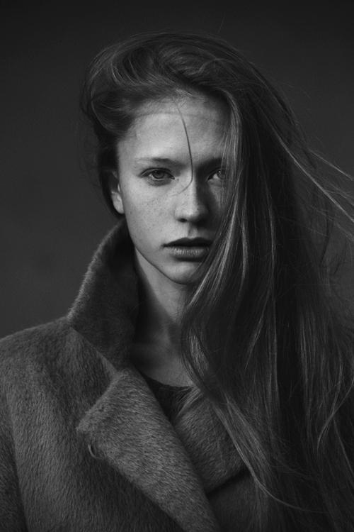 black and white, portrait, photograph, model, woman, face
