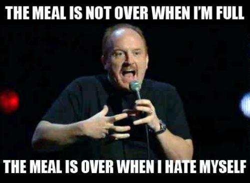 food, meal, craving, I'm full, eating, food addiction, can't stop, funny, true, psychology