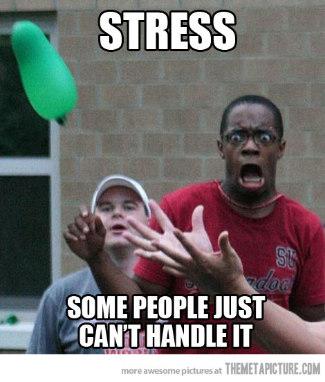 stress, laugh, funny, cartoon, water balloon, funny facial expression