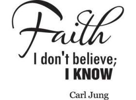 Carl Jung, Faith, believe, belief, God, religion, spirituality