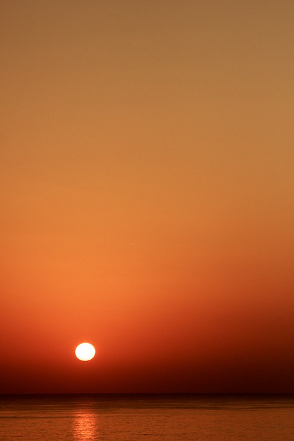 Red Sea, Sea, beach, sunrise, Egypt