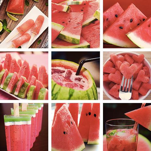 fruit, watermelon, salad, drink