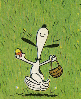 snoopy, easter, easter eggs, easter egg hunt, snoopy, cute, funny