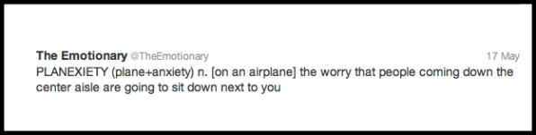 airplane,word,define,anxiety,psychology