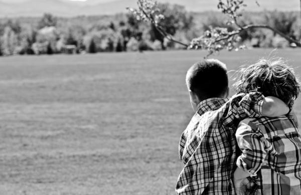 black and white photography, siblings, brothers, childhood, memories