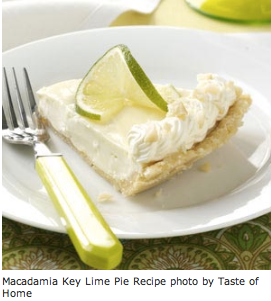 Macadamia Key Lime Pie Recipe