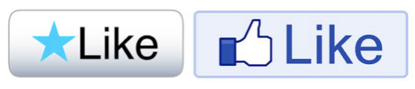 Word Press & Facebook Like Symbols