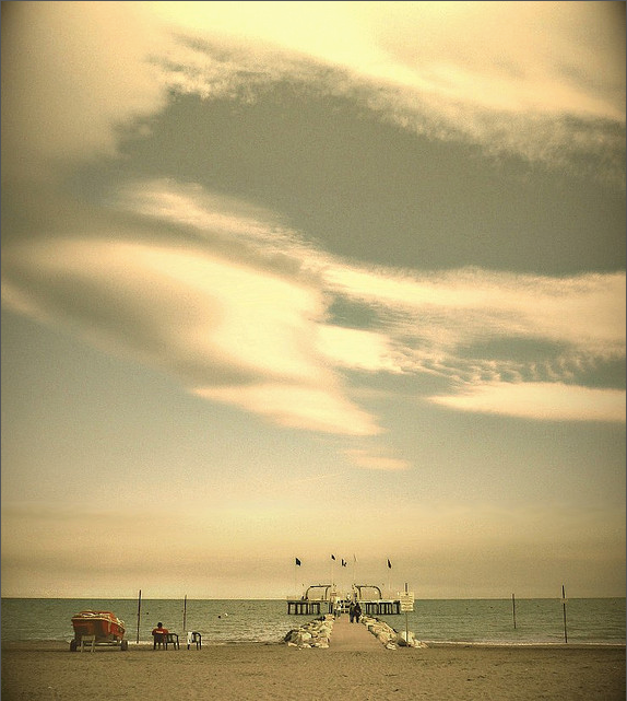 beach, summer,boardwalk,ocean, clouds, photography