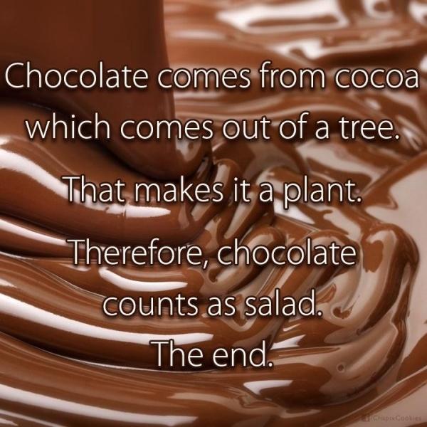 Chocolate-funny