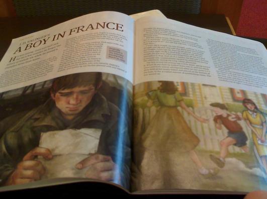 J.D. Salinger - A Boy in France