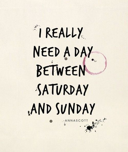 saturday-sunday