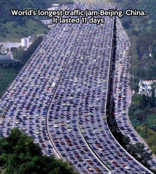 funny-traffic-China-jam-Beijing