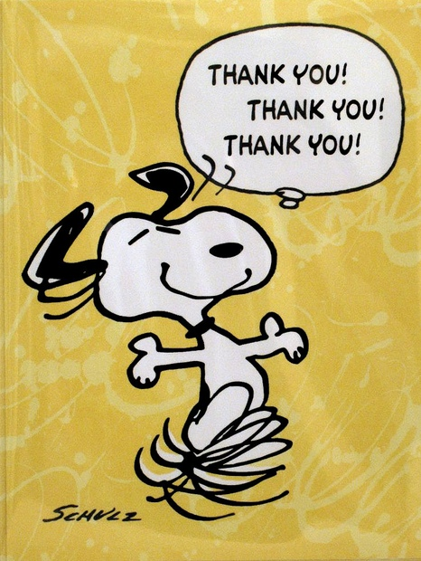 snoopy-thank you