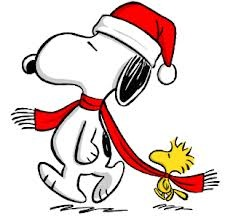 snoopy-woodstock-christmas-exercise