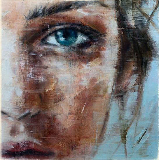 painting, art,woman,portrait, close-up