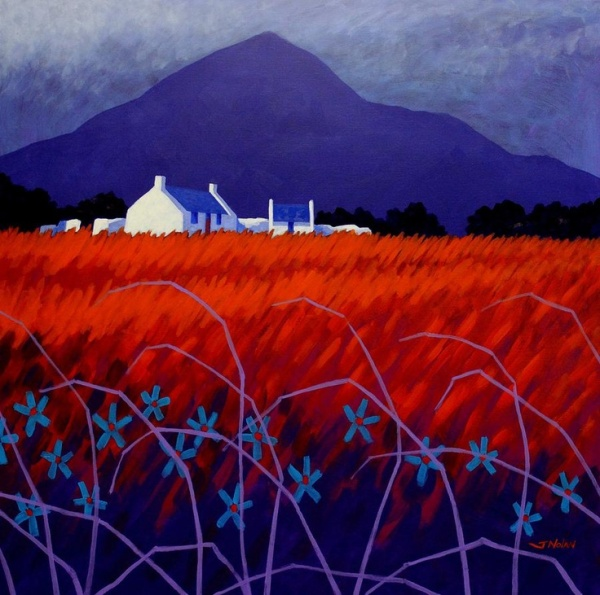 painting,art,Ireland,red