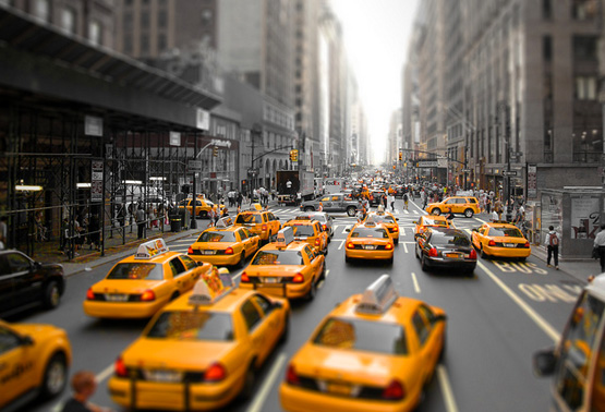 New-York-City-Street-Cabs