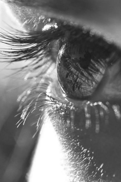 eyeball,black and white