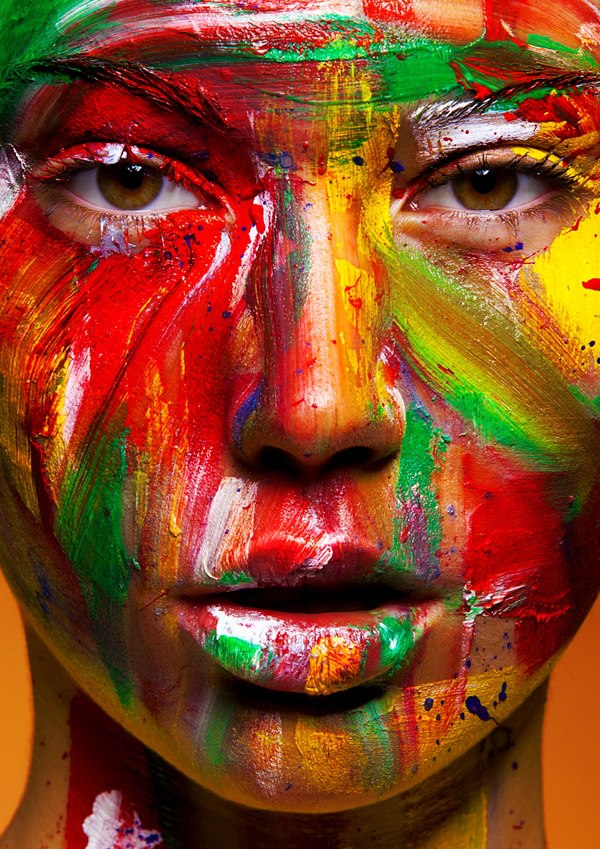 face-paint-color