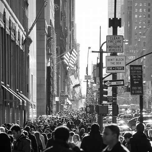 manhattan-new york-busy