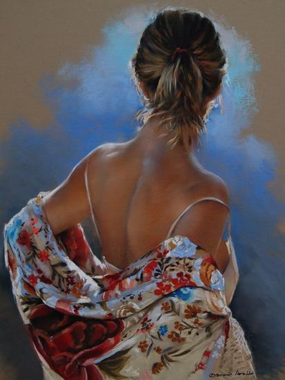 painting,woman