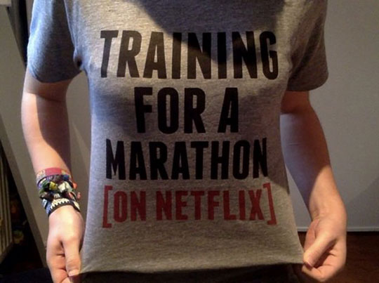 funny-shirt-training-marathon-Netflix