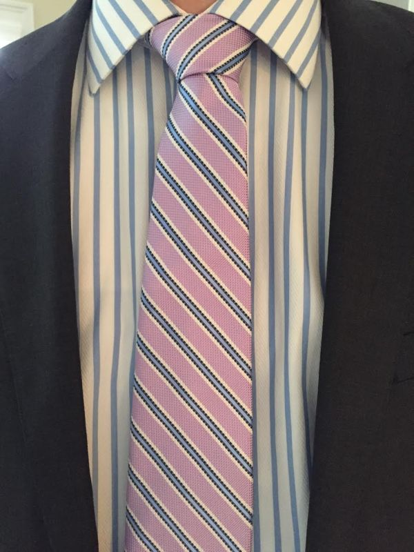 eric-tie-striped-son-work