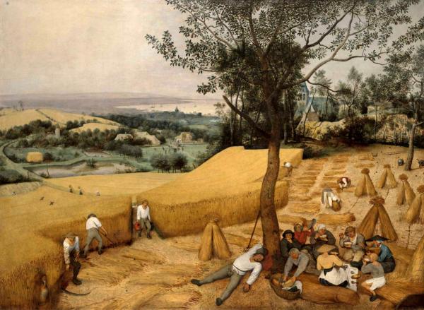 Pieter-Bruegel-the-harvesters-labor-day
