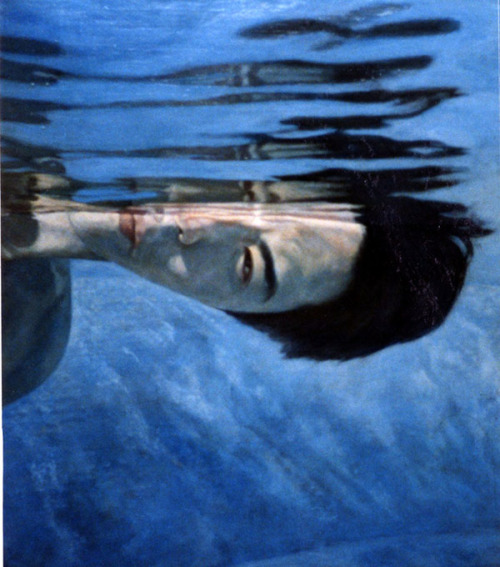 water-blue-art-painting-self-portrait