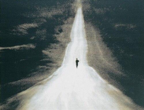 running-road-alone
