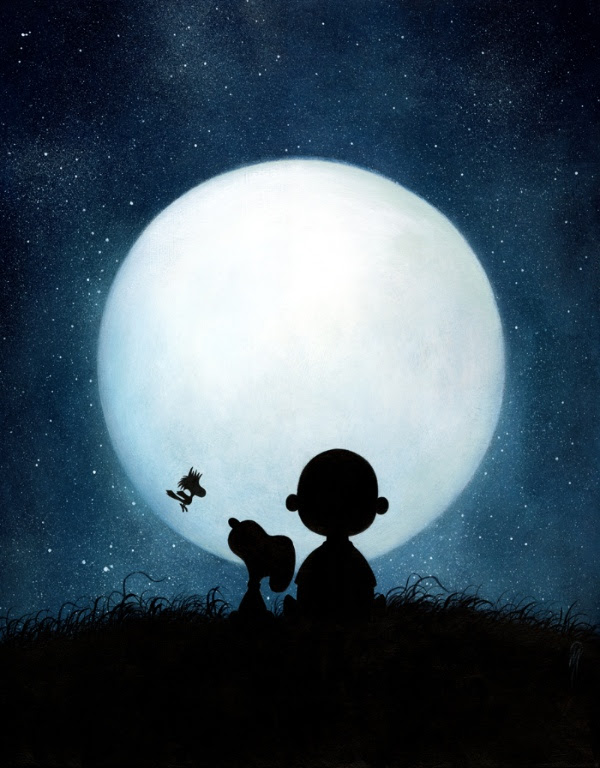 full-moon-snoopy-charlie-brown