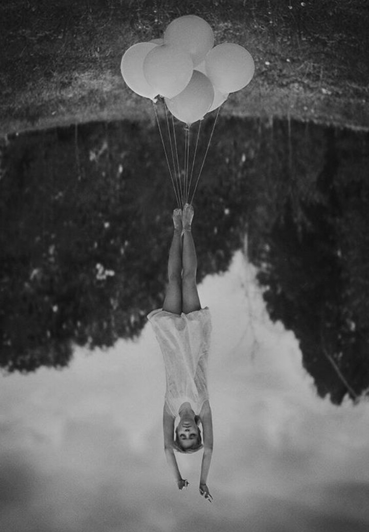 balloon-upside-down